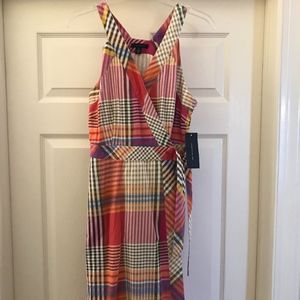 Tommy Hilfiger - Wrap Dress (Multi-Colored)